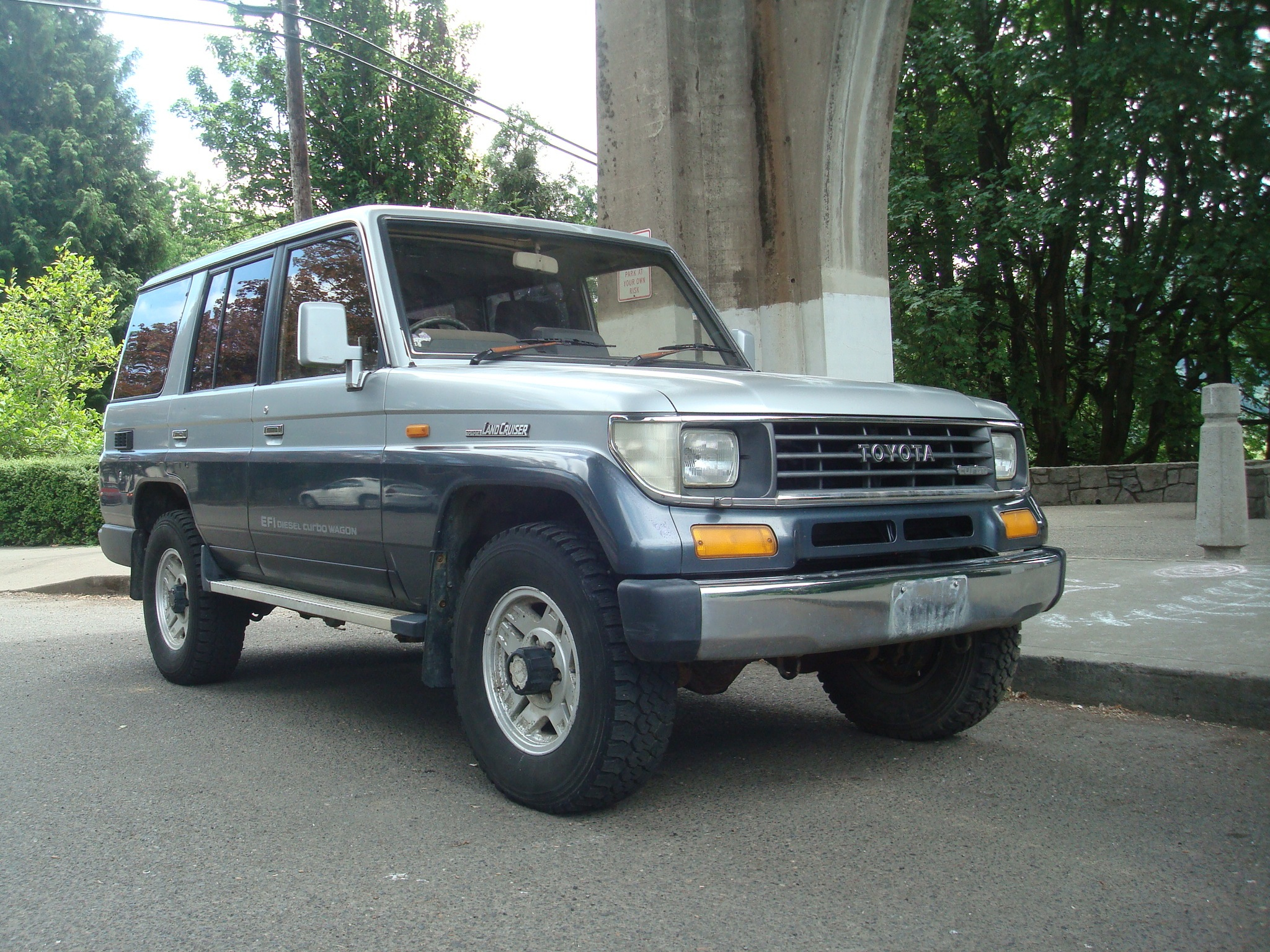 sold 1990 toyota landcruiser turbo diesel efi wagon very nice zombie motors. Black Bedroom Furniture Sets. Home Design Ideas