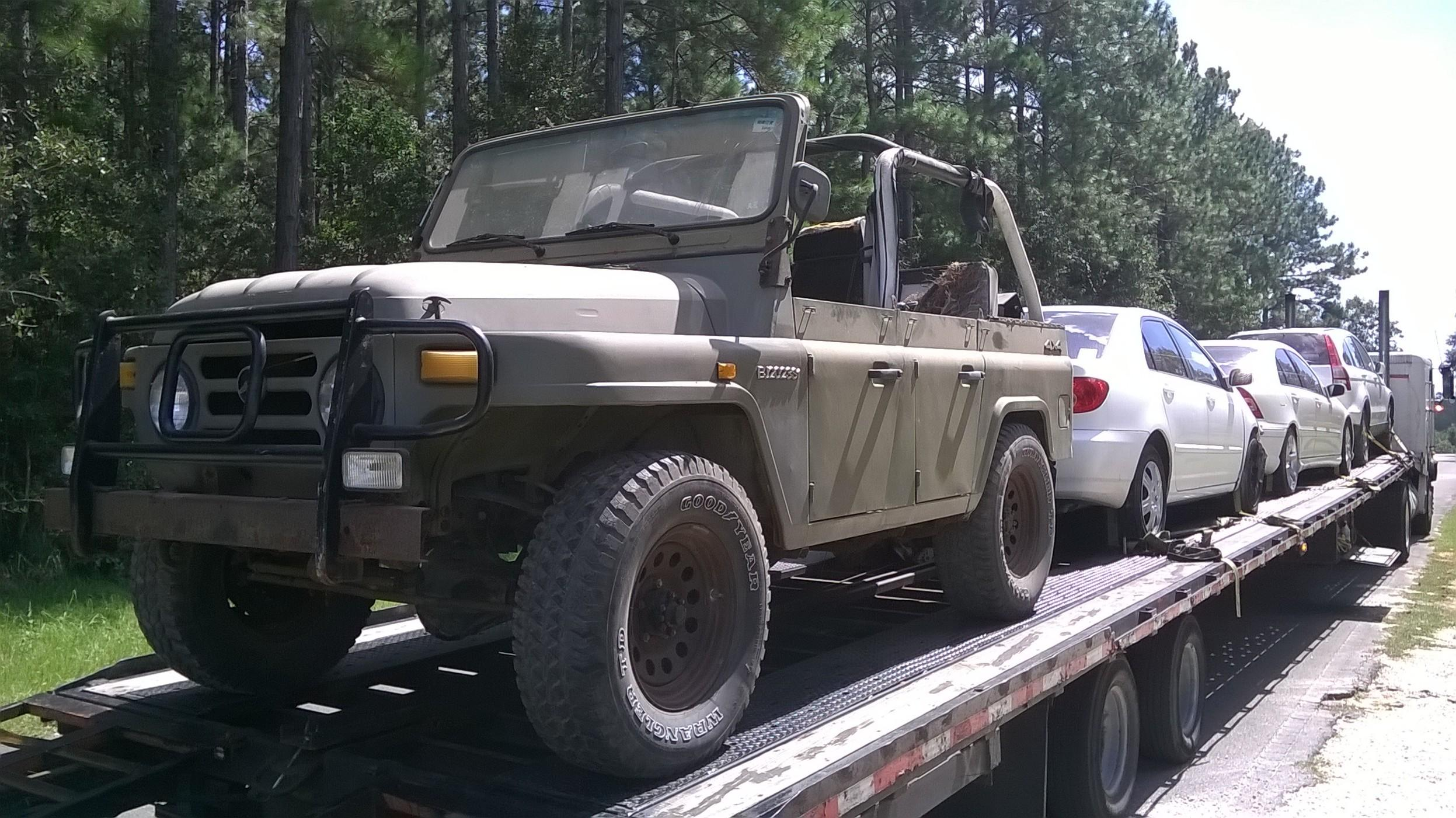 Beijing BJ2023 Military Jeep JUST ARRIVED like Land Rover