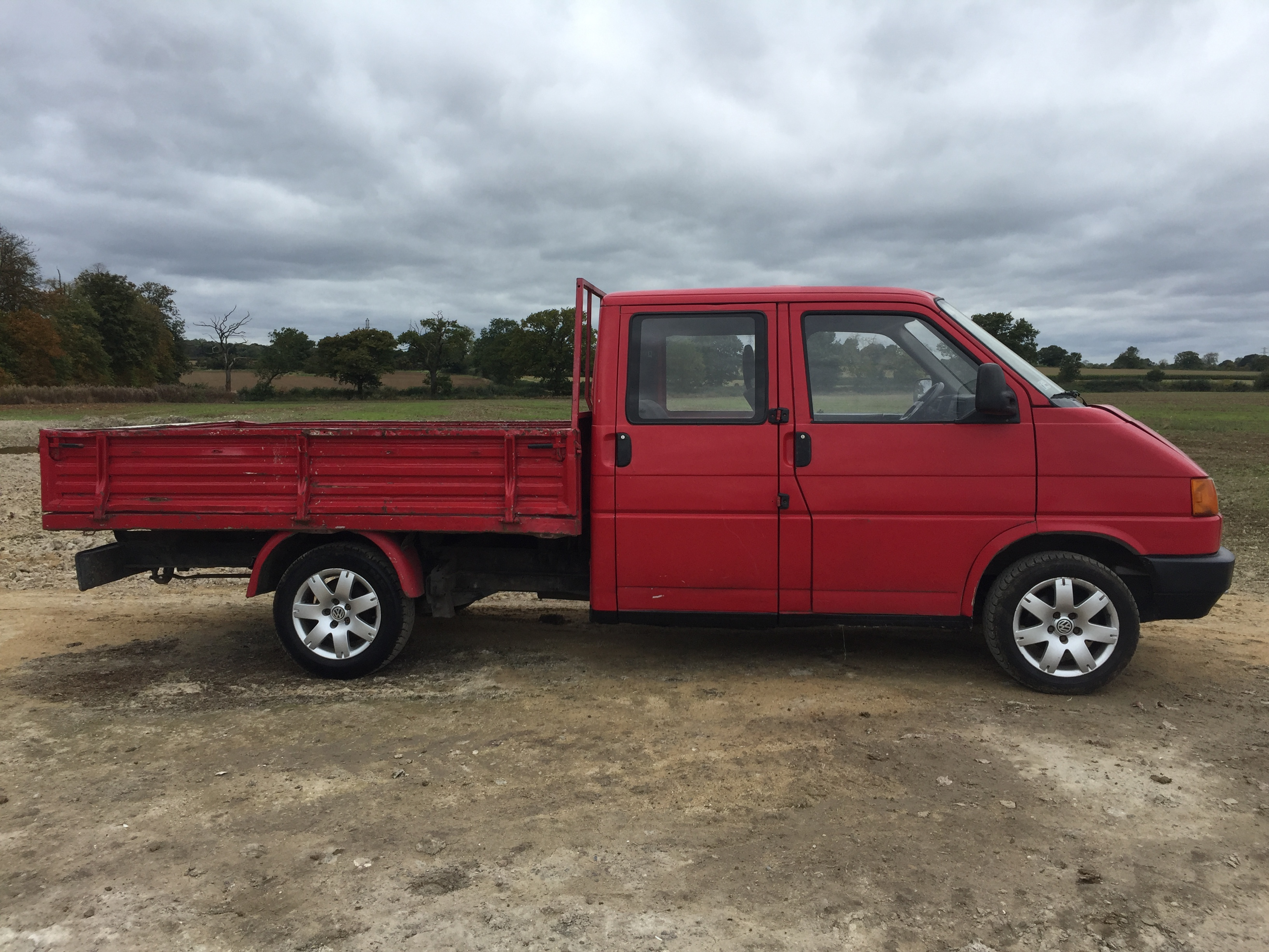1992 Vw T4 Eurovan Doka Double Cab Pick Up Truck Diesel
